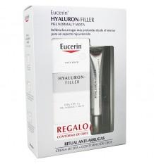 Eucerin Hyaluron Filler Fluido Fps 15 50 ml Contorno Gratis