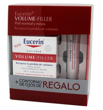 Eucerin Volume Filler Dia Normal Mista Contorno Volume Filler Grátis