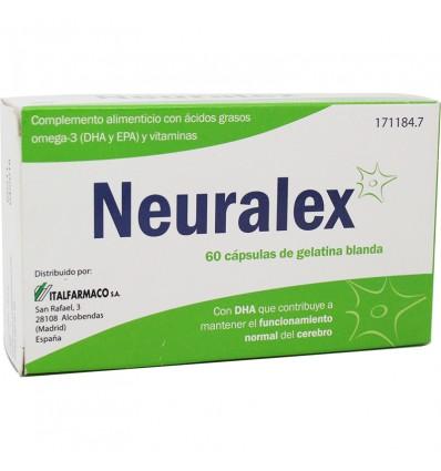Neuralex en Oméga-3 de la Vitamine B 60 capsules