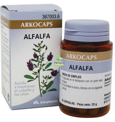 Arkocapsulas Alfalfa 50 Arkocaps