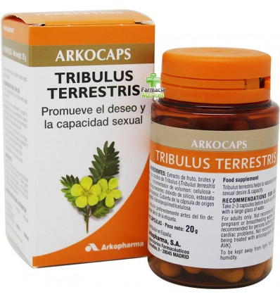 Arkocapsulas Tribulus 42 arkocaps