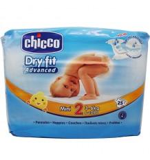 Chicco Couches Mini Taille 2 3-6 kg 25 Unités