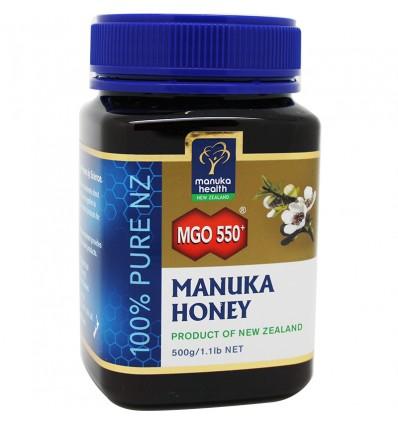 Miel de Manuka Honey mgo 550 500 gramos
