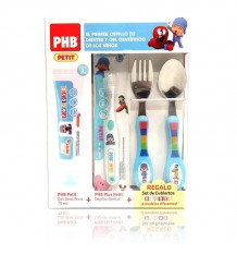 Phb Pocoyo Pack Cepillo Gel 75 ml Cubiertos