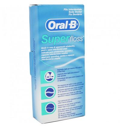 Oral B Super Floss 50 Metros