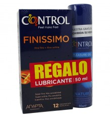 Condoms Control Finissimo 12 units Offer Gift