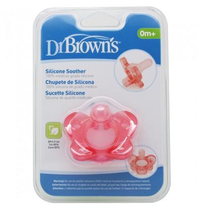 Dr Browns Chupete Silicona 1 Pieza Rosa Niña