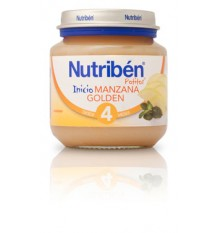 Nutriben Potito Pomme d'Or de 130 grammes