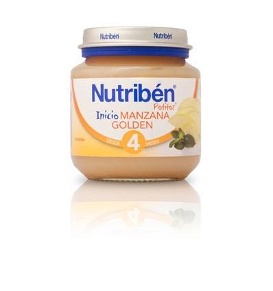 Nutriben Potito Manzana Golden 130 gramos