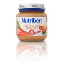 Nutriben Potito Veal with Vegetables 130 g