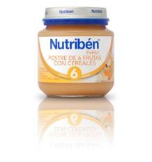 Nutriben Potito Sobremesa 6 Frutas com Cereais 130 g