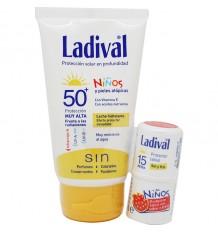 Ladival für Kinder 50-Milch Feuchtigkeitscreme 75 ml Geschenk Pack