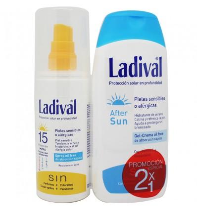 Ladival Spray 15 Piles Alergicas After Sun Regalo