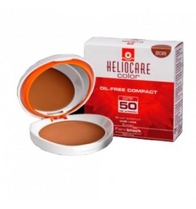 Heliocare Compacto Oil free Spf 50 Brown