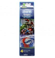 Oral B Recambio Vengadores 4 Unidades