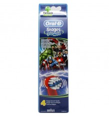 Oral B Replacement Avengers 4 Units