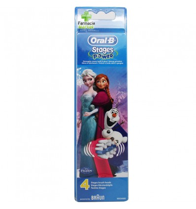Oral B Replacement Frozen 4 Units