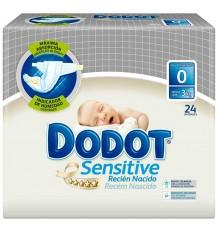 Fralda Dodot Sensitive T0 Até 3 Kg 24 Fraldas