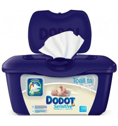 Dodot Sensitive Toallitas 54 Caja