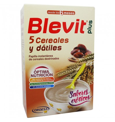Blevit plus 5 Cereales y datiles 300 g