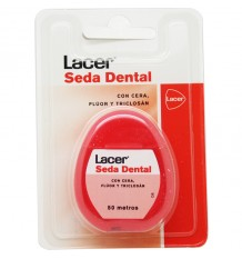 Lacer Zahnseide Fluorid Triclosan