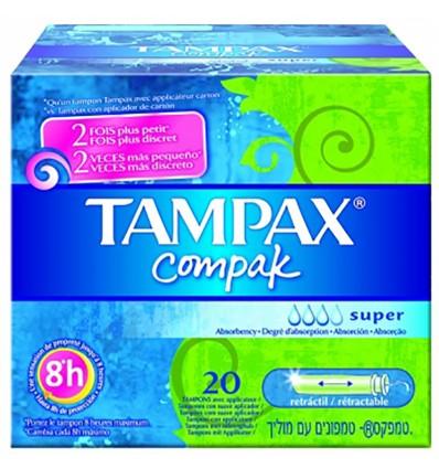 Tampax Compak Super 22 Unités