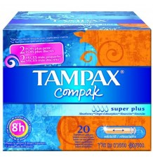 Tampax Compak Superplus 22 Unités
