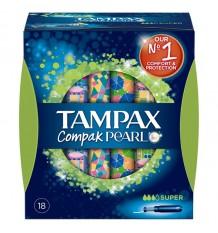 Tampax Pearl Compak Super 18 Un