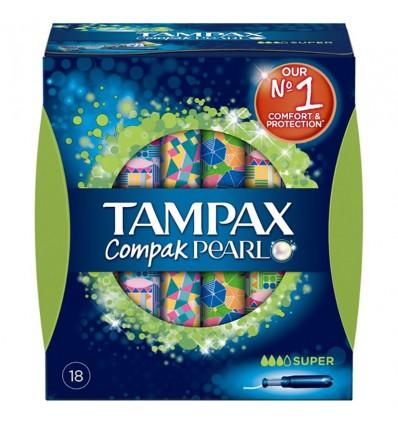 Tampax Compak Pearl Super 18 A