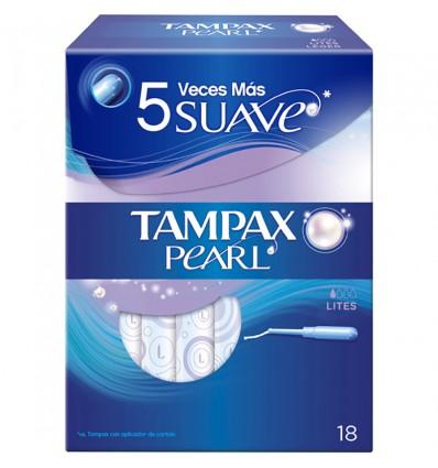 Tampax Pearl Lites 18 unidades