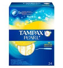 Tampax Pearl Réguliers de 24 unités
