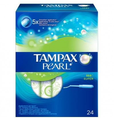 Tampax Pearl Super 24 units
