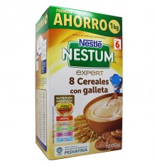 Nestum 8 cereals with cookie 1000 g Format Saving