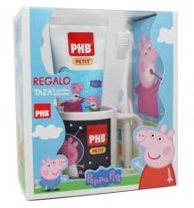 Phb Peppa Pig Pack Escova De Gel Copo