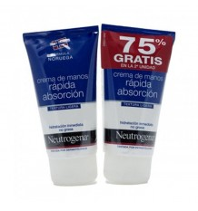 Neutrogena Hand Cream Fast Absorption Duplo