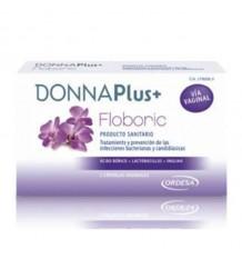 Donnaplus Floboric 7 Cápsulas Vaginais