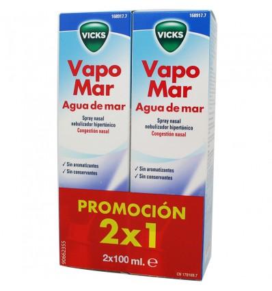 Vicks Vapomar Hipertonico 100 ml Duplo Ahorro