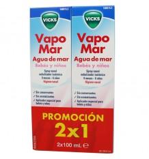 Vicks Vapomar Bébé Isotonico 100 ml Duplo Épargne