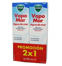 Vicks Vapomar Isotonico 100 ml Duplo Einsparungen