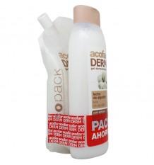 Acofarderm Gel douche Lait de Coton 750 ml Pack Ecopack