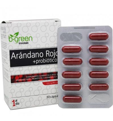 B Green cranberry Red Probiotic 30 caps
