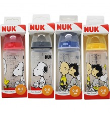Nuk Snoopy Bottle Silicone 1M 300 ml