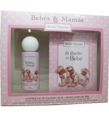 Bebês & Mamas Estojo Rosa Colônia Diário do bebê