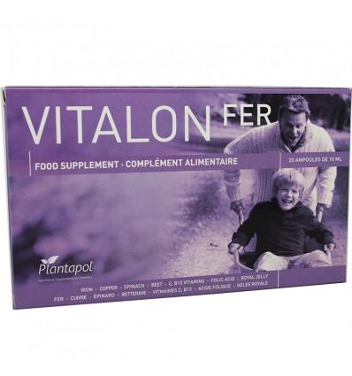 Plantapol Vitalon Fer 20 blisters