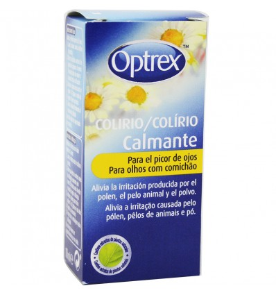 Optrex Medicamento Calmante para tratar Comichão nos Olhos