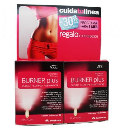 Burner Plus 4 3 2 1 Duplo 60 capsulas