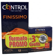 Controle Preservativos Finissimo 12 unidades Presente
