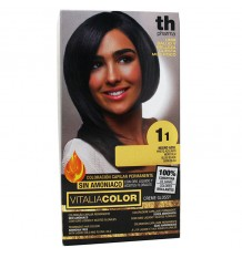 Th Pharma Vitaliacolor Tintura 11 Preto Azul