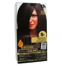 Th Pharma Vitaliacolor Colorant 51 De Frêne Brun