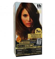 Th Pharma Vitaliacolor Tintura 703 Loiro Médio Natural Dourado